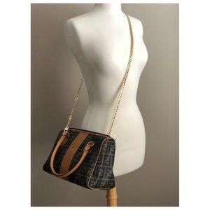 ✨Authentic Vintage FENDI Roma FF Boston Speedy Bag